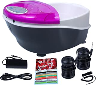Healcity Elite Plus Holiday Gift Ionic Detox Foot Bath SPA System Machine Plus Panel Control +
