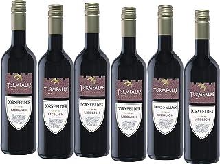 Turmfalke Dornfelder Qualitätswein lieblich 20166 x 0.75 l