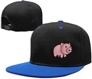 Eyscar Women's&Man Pig Unisex Fashion Baseball Cap Adjustable Strapback