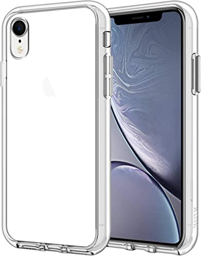 JETech Case for iPhone XR 6.1-Inch, Shockproof Bumper Cover, Clear
