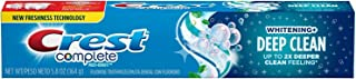 Crest Complete Toothpaste Whitening + Deep Clean, Effervescent Mint 5.80 oz (Pack of 2)