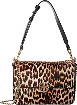 Tory Burch - Chelsea Leopard Calf Hair Shoulder Bag