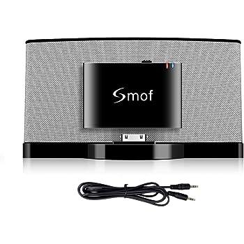 Smof Sounddock用30 PIN Bluetoothアダプター, iPod/iPhone/携帯電話/JBL/Carに転送します, 3.5 mm AUX Bluetoothオーディオレシーバー
