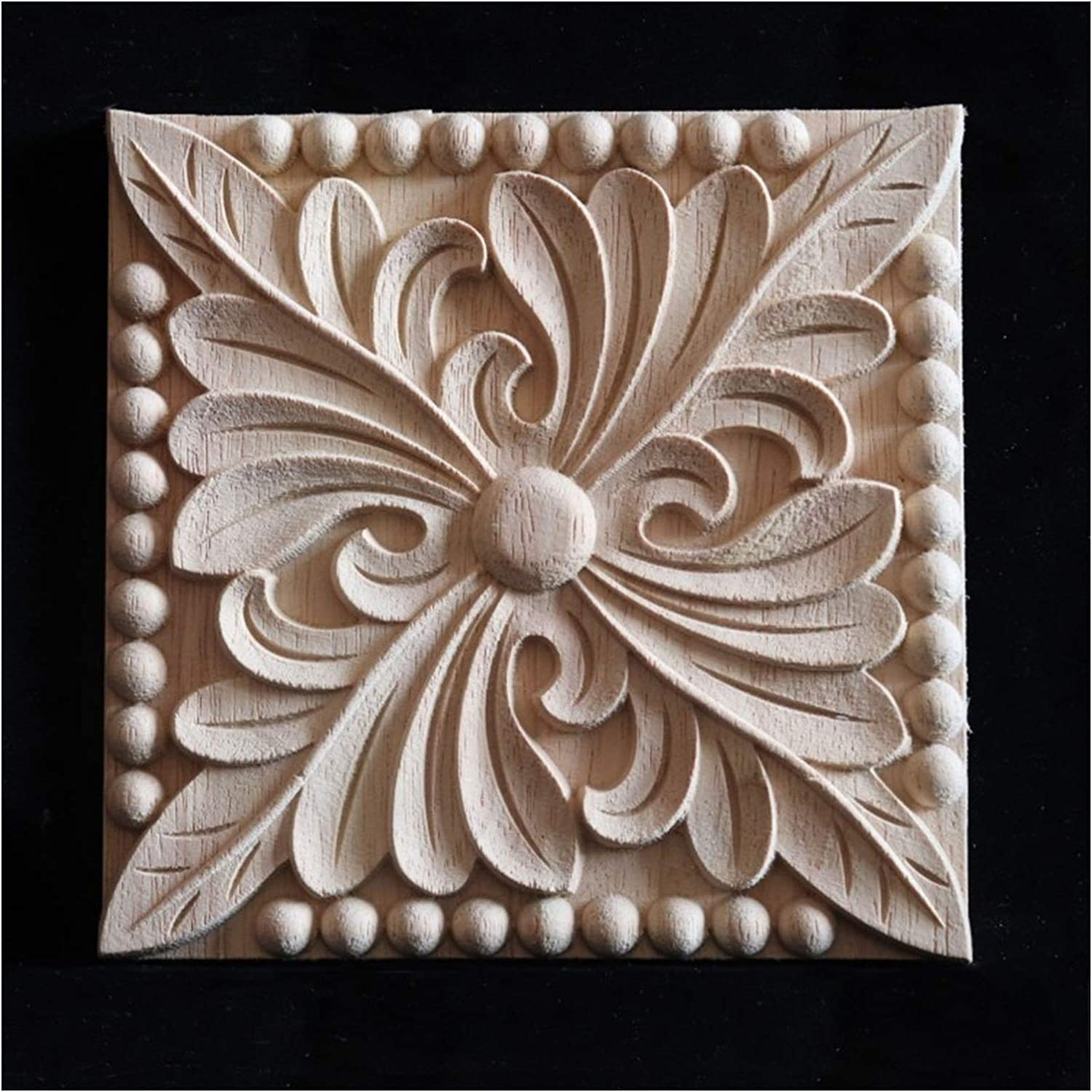 Furniture Stickers Popular standard 15CM Decal Wood Carving for Indefinitely Home Ce