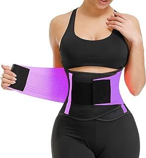 VENUZOR Waist Trainer Belt Women - Waist Cincher Trimmer - Slimming Body Shaper Belt - Sport Girdle Belt (UP Graded)