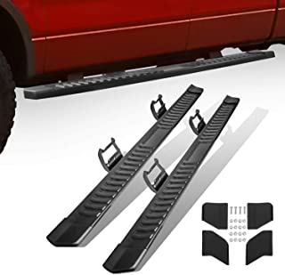 MOSTPLUS Running Board Nerf Bar for 15-19 Ford F150 Crew/ F250/F350 Super Duty 6 inches Side Step