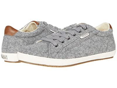 Taos Footwear Star Burst (Charcoal/Tan Wool) Women