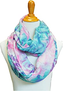 Scarf Tradinginc Floral Light Weight X Large Infinity Scarf