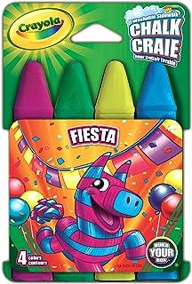 Crayola Washable Sidewalk Chalk 4/Pkg-Fiesta