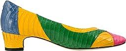 Hot Pink/Green/Yellow/Royal Blue Whip Snake