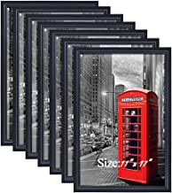 PETAFLOP 11x17 Frame Black Photo Frame for 11x17 Picture, Pack of 7