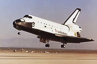 Space Shuttle Challenger Landing Photo Photograph Cool Wall Decor Art Print Poster 18x12