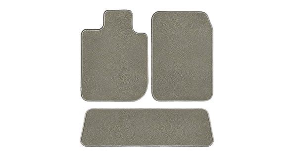 GG Bailey D51542-S2B-CC-CHAR Precision Couture Charcoal Two Row Set Custom Car Mat