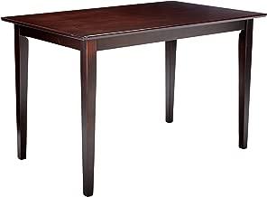 Clayton Rectangular Dining Table Cappuccino