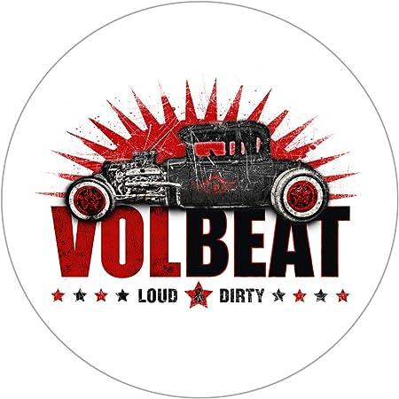 Volbeat Guitar Gangsters Autoaufkleber Sticker Aufkleber Rund Wasserfest Auto