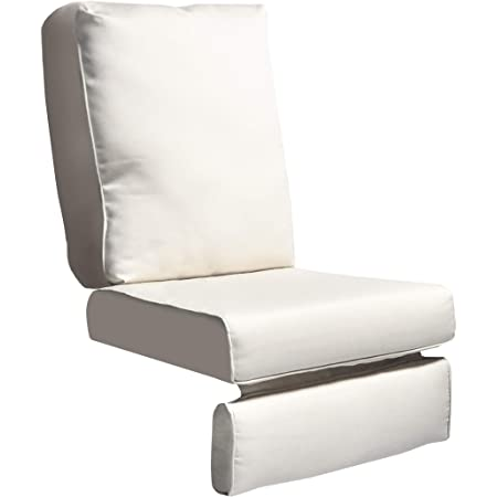 all weather outdoor recliner cushion replacement patio chair deepseat waterproof cushion beige