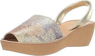 Women's Fine Glass Wedge Sandal