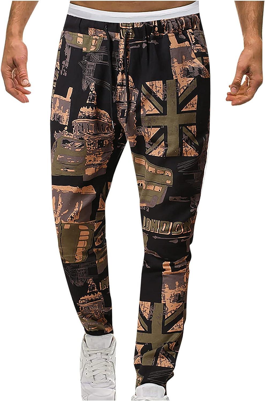 QTOCIO Yoga Pants Men 2021new shipping free Linen Loose Elastic Special sale item Casual Drawstrin