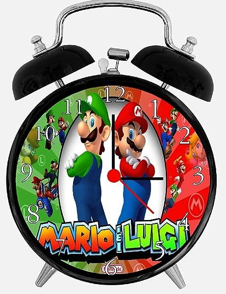 Quartz Super Mario And Luigi Alarm Clock