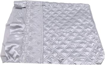 Bed Headboard Slipcover Protector Stretch Lace Flower Cover for