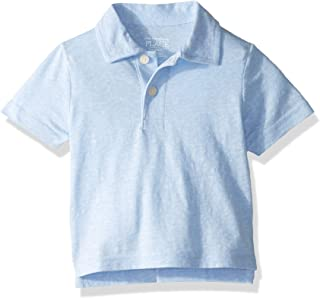 The Children's Place Boys 3001088 Solid Polo Shirts Short Sleeve Polo Shirt - Blue