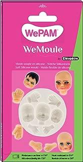 WePAM - PF00MD07 - WeMoule - Molde de silicona para moldear caras y manos