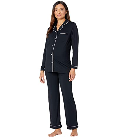Kindred Bravely Clea Bamboo Long Sleeve Classic Maternity Nursing Pajama Set