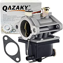 QAZAKY Replacement for Carburetor Tecumseh 640065 640065A OHV110 OHV115 OHV120 OHV125 OHV130 OV358EA OVH135 13HP 13.5HP 14HP 15HP Engine Lawn Mower Lawnmower Carb 520-952 056-316 13153