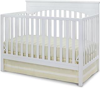 Delta Children Layla 4-in-1 Convertible Baby Crib, White