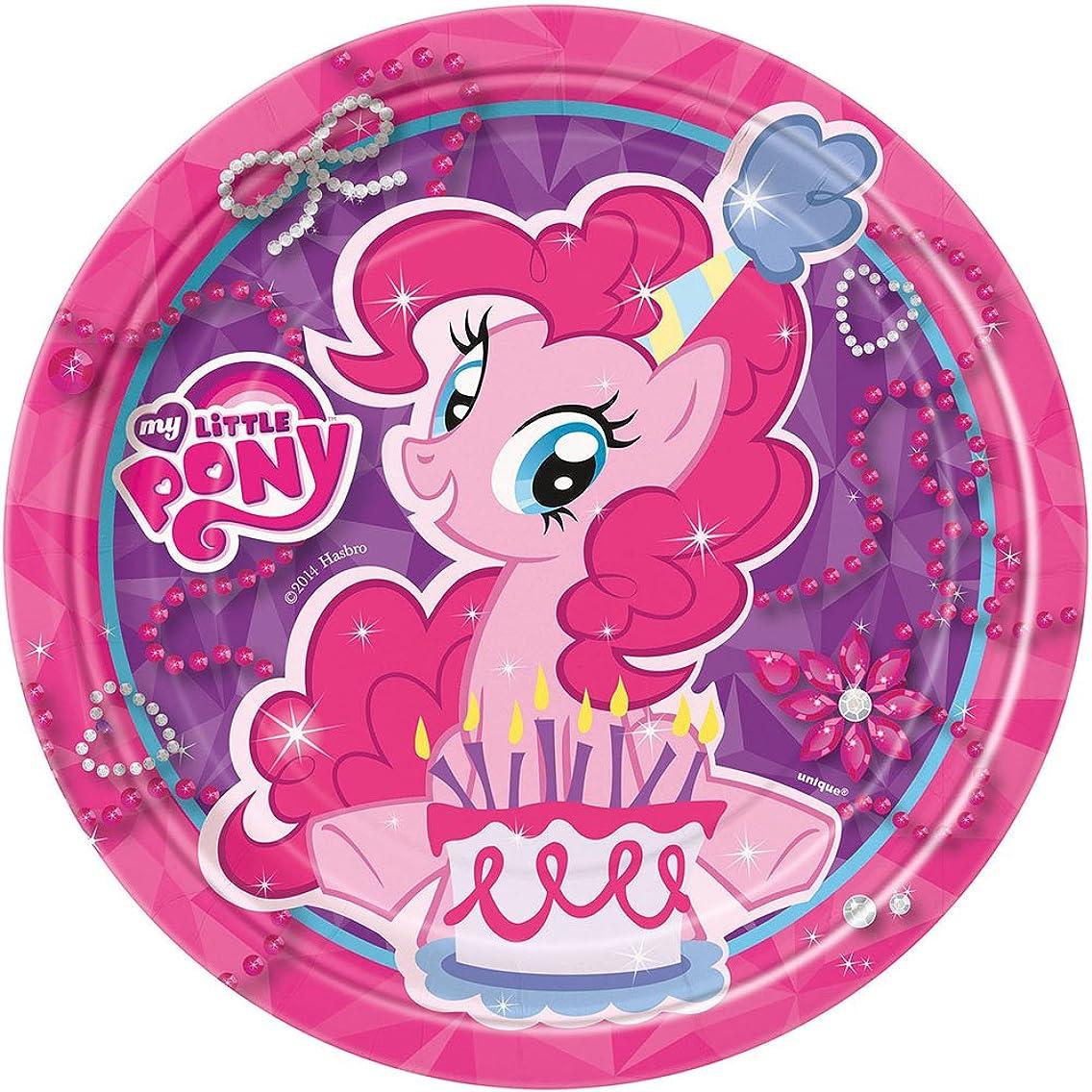 My Little Pony Dessert Plates, 8ct