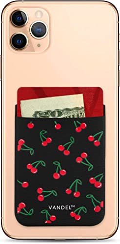 Vandel Pocket - Stick On Fabric Phone Wallet for Women, Cute Credit Card Holder for Back of Phone and iPhone Case, St...
