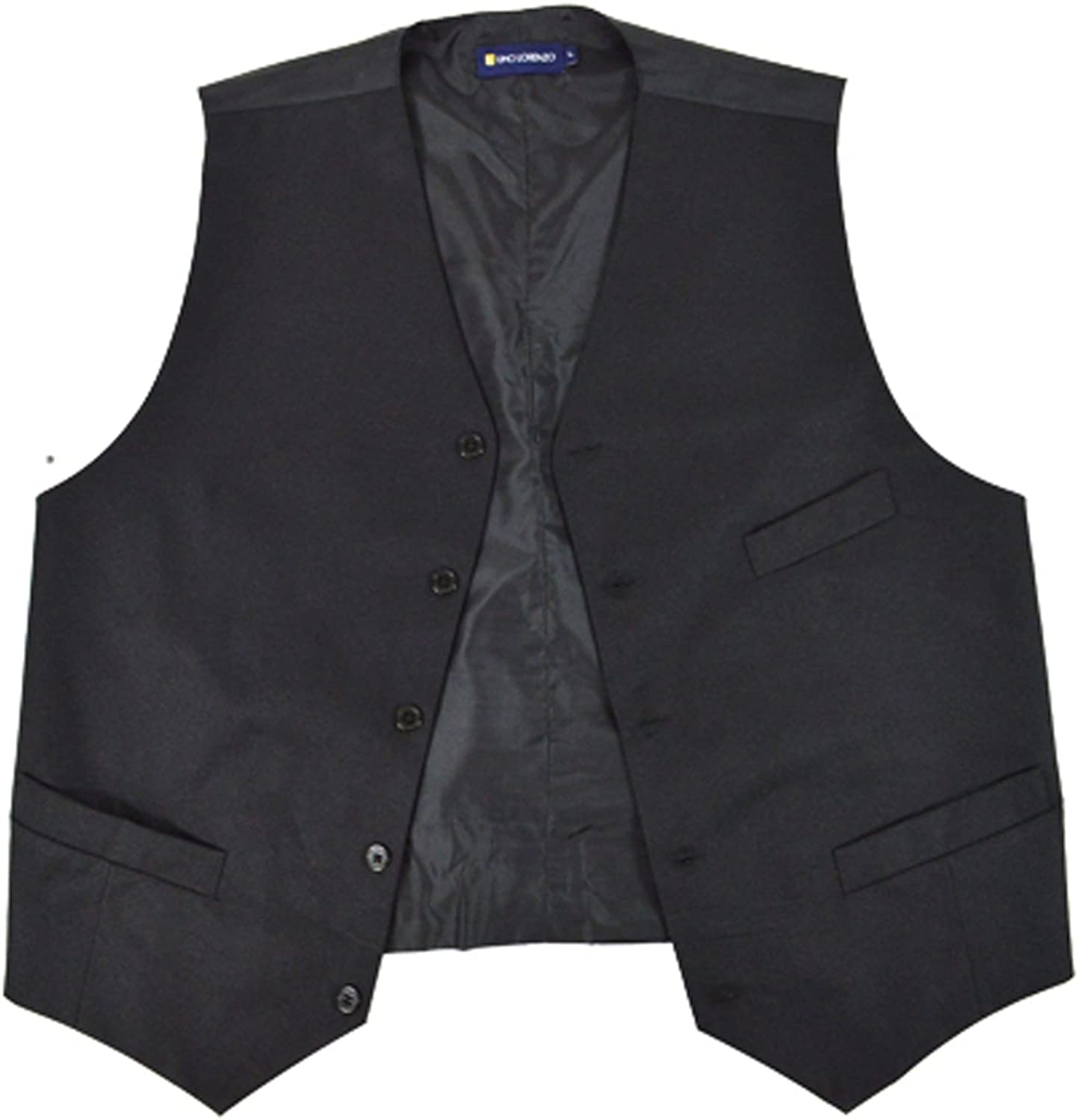 Poly Twill Vest with Chest Pocket