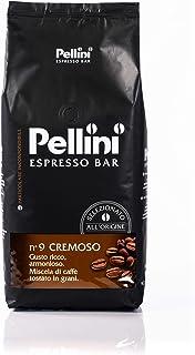 Pellini Espresso Bar - Caffè in Grani, Livello di Tostatura: Medio, N.9 Cremoso, 1 kg