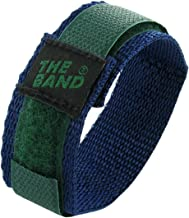 16mm Chisco Durable Green and Blue Sport Strap Wrap Nylon Fabric Watch Band