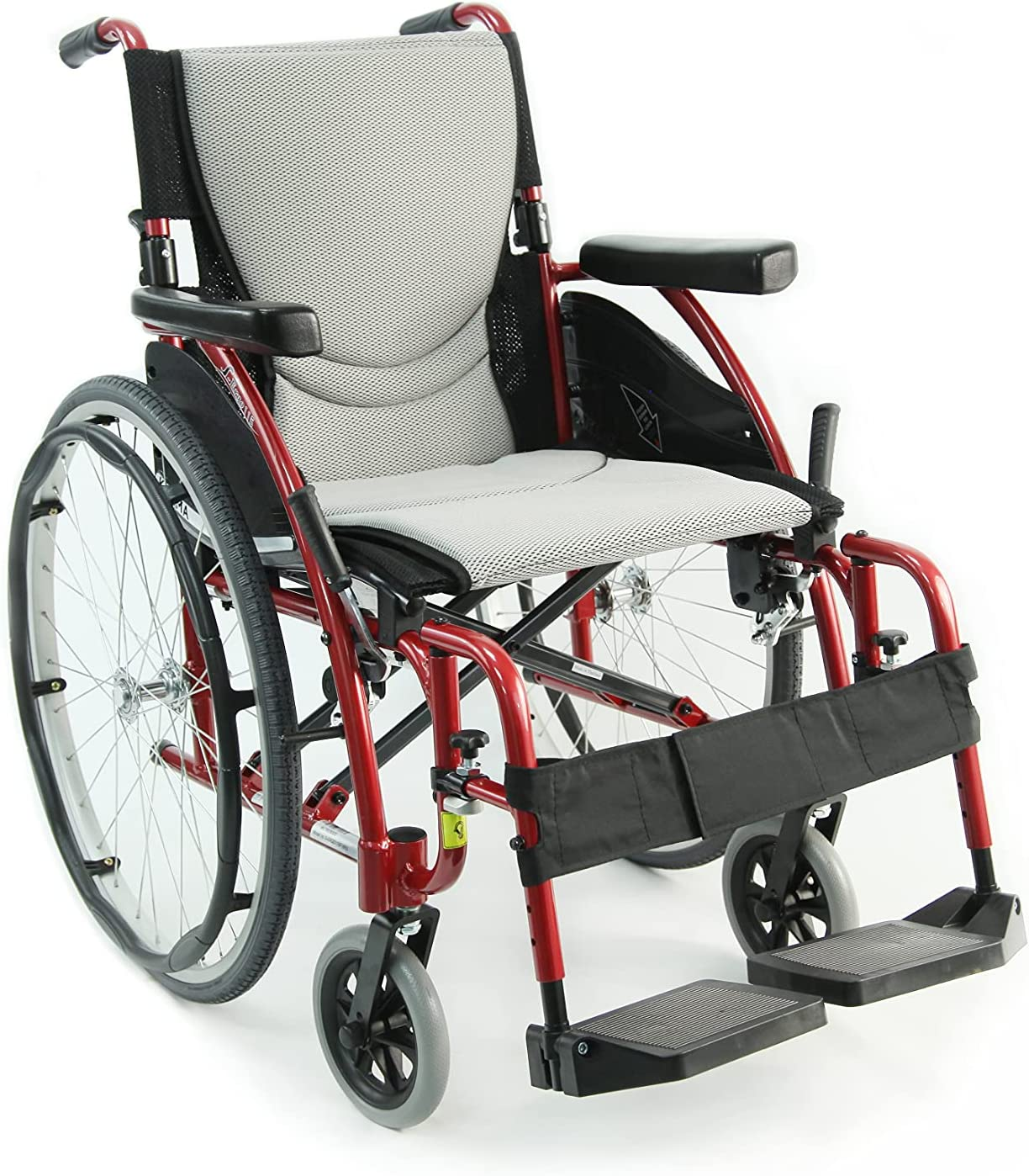 Max 41% OFF Karman S-115 25 lbs Ultra New color Light Ergonomic Remova Wheelchair with