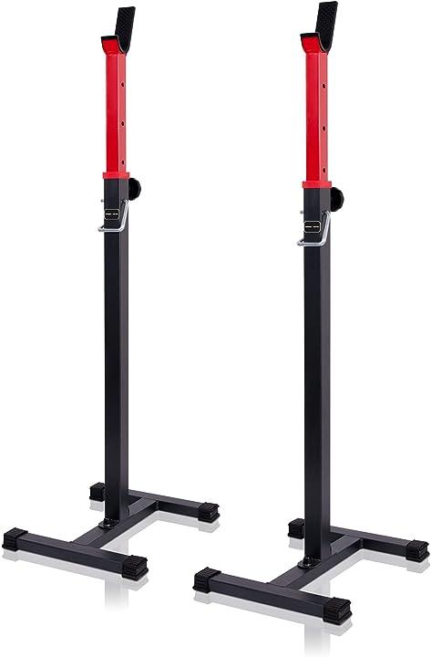 Supporto per bilanciere regolabile in altezza bilanciere per bilanciere ms-s101 marbo sport