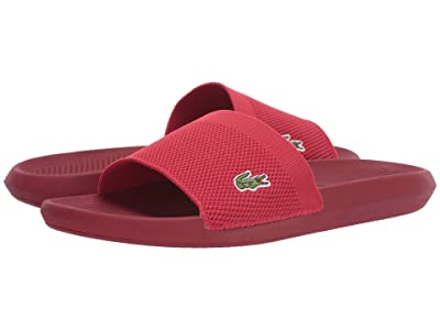 Lacoste Croco Slide 219 2 US CMA (Red/Red) Men