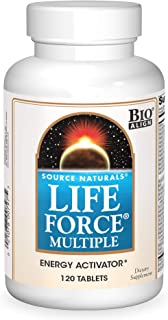 Source Natural Life Force Multiple - Energy Activator - 120 Tablets