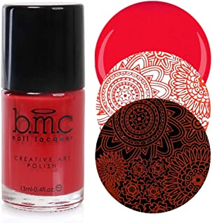 Maniology (formerly bmc) 2nd Gen Creative Nail Art Stamping Polish - Essentials: Primary, Fireside