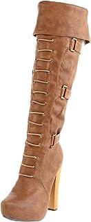 N.Y.L.A. Women's Kaylani Knee-High Boot
