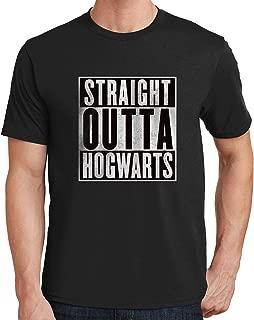 Straight Outta Hogwarts Mens T-Shirt 522