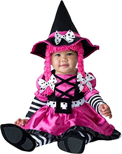 InCharacter Costumes Baby Girls' Wee Witch, schwarz Fuchsia, Small
