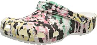 Crocs Unisex's Men's and Women's Tie Dye Mania Clog|Casual Slip On Water Shoe