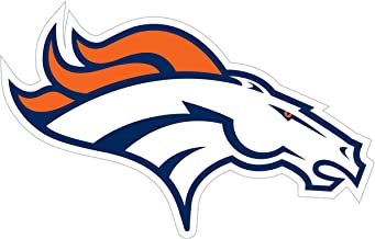 qualityprint Denver Broncos Set of 4 NFL Football Car Bumper Stickers Decals 5 Longer Side
