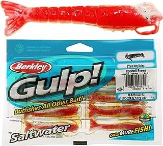 Gulp! Baby Shrimp Saltwater Fishing Bait, 2-Inch, Cocktail Prawn