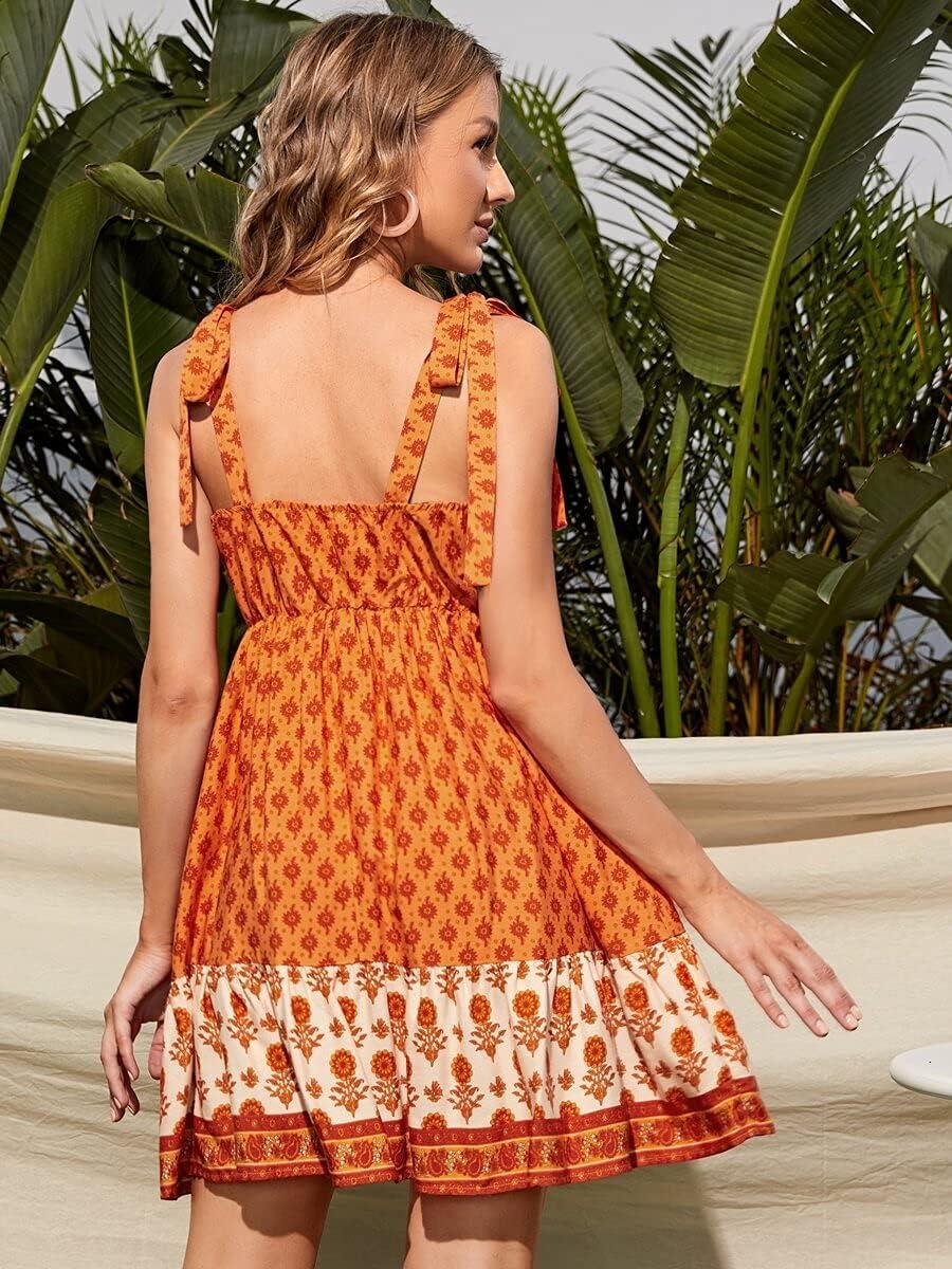 Shreem85 Maternity Dress depot Max 66% OFF Tie Allover Floral Shoulder P