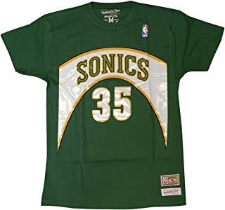 Seattle Supersonics Kevin Durant Retro Name & Number T-Shirt