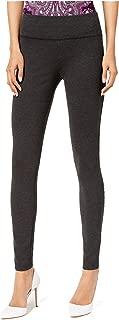 INC International Concepts Women's Curvy Pull-On Skinny Leggings Pants (Dark Heather Grey, 10)