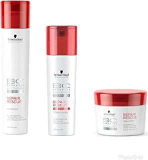 Schwarzkopf REPAIR RESCUE SHAMPOO,CONDITIONER AND MASK 250ml