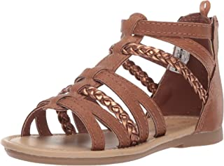 6ec76b5daab carter s Girl s Fenna Braided Gladiator Sandal